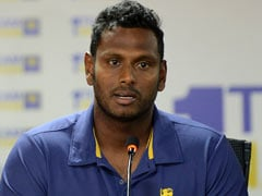 Sri Lanka's Injured Angelo Mathews Ruled Out Of Bangladesh Tour