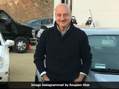 Anupam Kher Thanks A Bunch Of People On His Way Back From Los Angeles