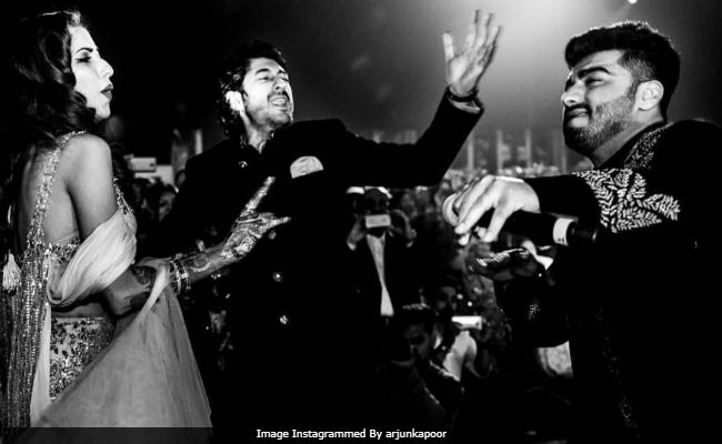 Arjun Kapoor Also Posted A Message For Newlywed Cousin Mohit Marwah And His Wife Antara Motiwala