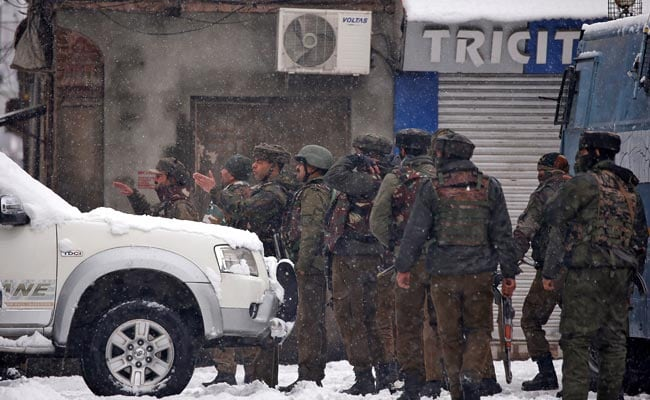 Army Launches Search After 2 Terrorists Seen Near Camp Gate In Jammu