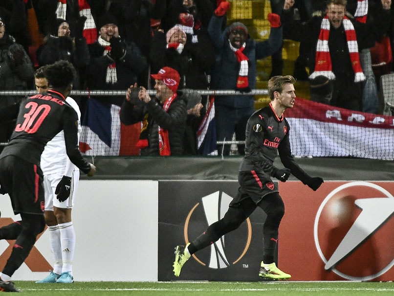 Europa League: Arsenal Ease To Victory, Michy Batshuayi Grabs Dortmund Comeback Win