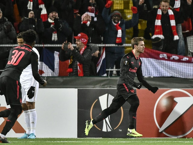 Europa League: Arsenal Ease To Victory, Michy Batshuayi Grabs Dortmund Comeback Win