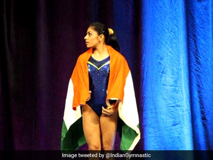 Aruna Budda Reddy Wins Bronze At 2018 Gymnastics World Cup