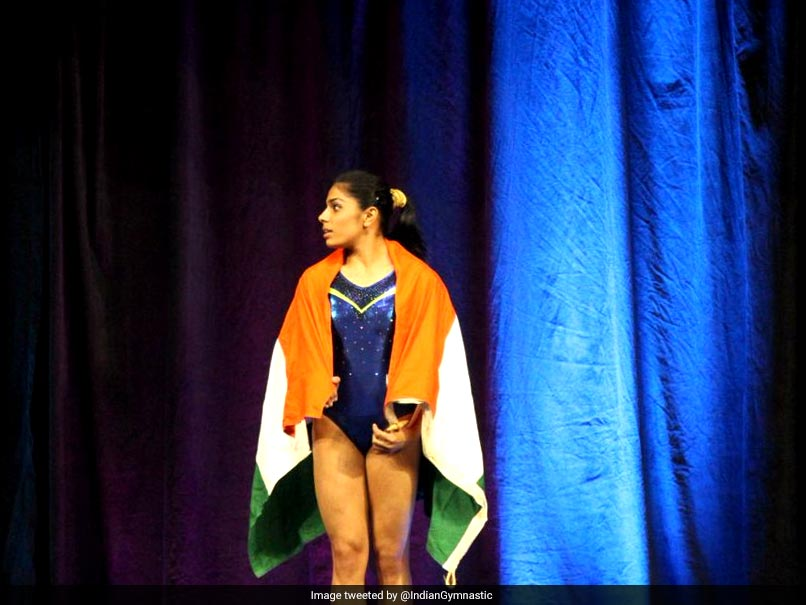 Aruna Budda Reddy creates history Wins bronze at Gymnastics World Cup