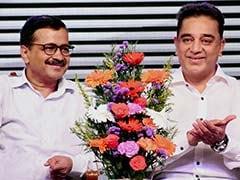 "Help Kamal Haasan Beat AAP's Delhi Record, Says ""Fan"" Arvind Kejriwal"