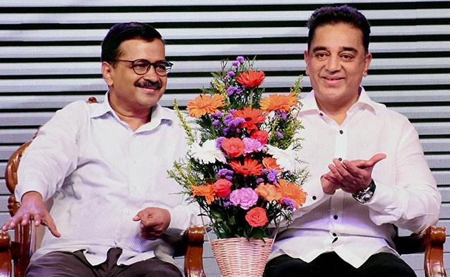 Help Kamal Haasan Beat AAP's Delhi Record, Says 'Fan' Arvind Kejriwal