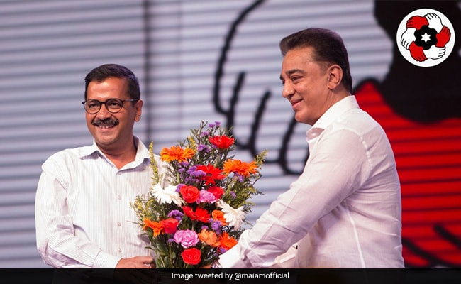 Haasan to launch his political party tomorrow, Kejriwal likely to attend