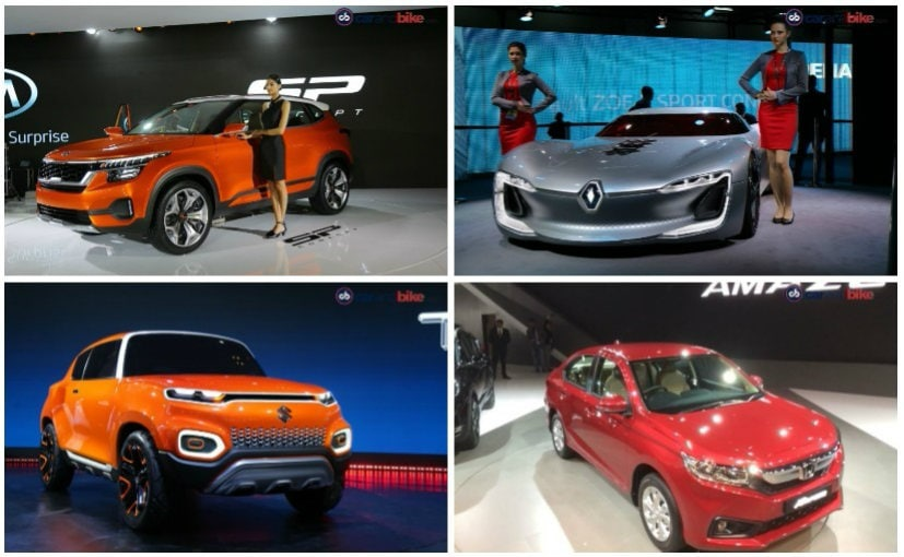 auto expo 2018 recap of important four wheeler launches and unveils