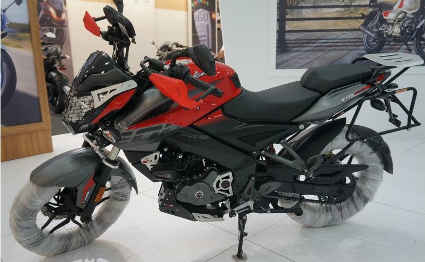 Bajaj NS 200 Adventure Showcased At Istanbul Motorbike