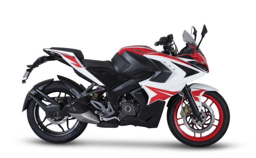 bajaj pulsar rs200 racing red