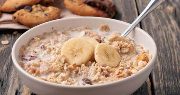 banana and almond porridge