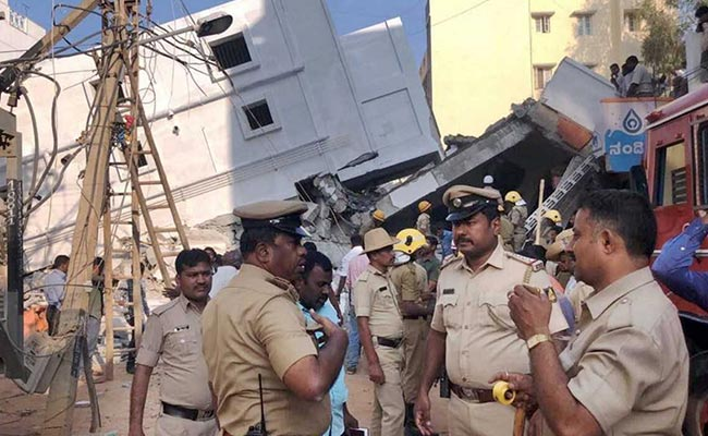 3 Dead After Under-Construction Building Collapses In Bengaluru