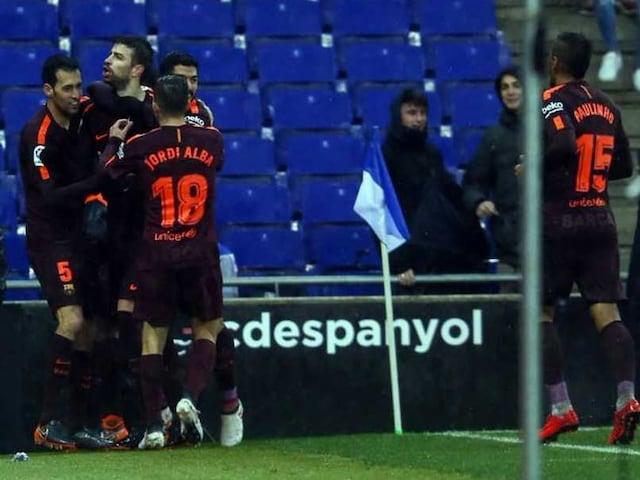 La Liga: Gerard Pique Keeps Barcelona Unbeaten, Atletico Madrid Cut Gap