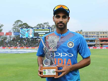 We Are Ready To Go To England and Australia: Bhuvneshwar Kumar