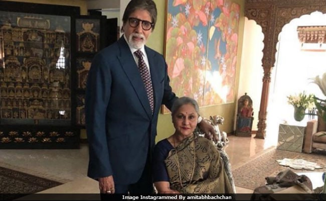 It's Valentine's Day. So Amitabh Bachchan Dug Out An Old Pic With Wife Jaya
