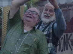 <i>102 Not Out</i> Teaser: Amitabh Bachchan, The 102-Year-Young Dad. Rishi Kapoor As The Son, 75