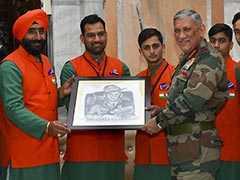 """Don't Let Failure Dishearten You"", General Bipin Rawat Tells Jammu And Kashmir Students"