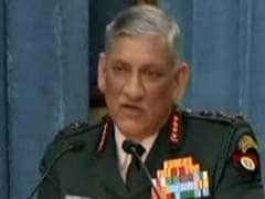 Army Chief's Comment