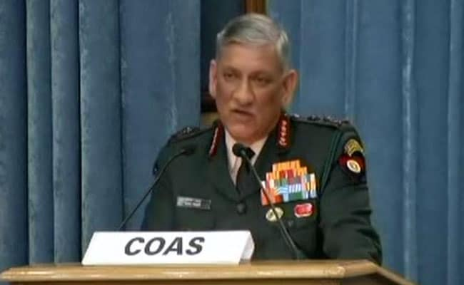 Don't Send Terrorists Across Border If You Want Peace: Army Chief To Pakistan