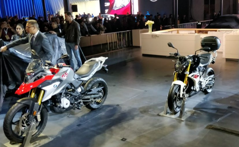 Auto Expo 2018 Bmw Showcases G 310 R G 310 Gs In India Ndtv