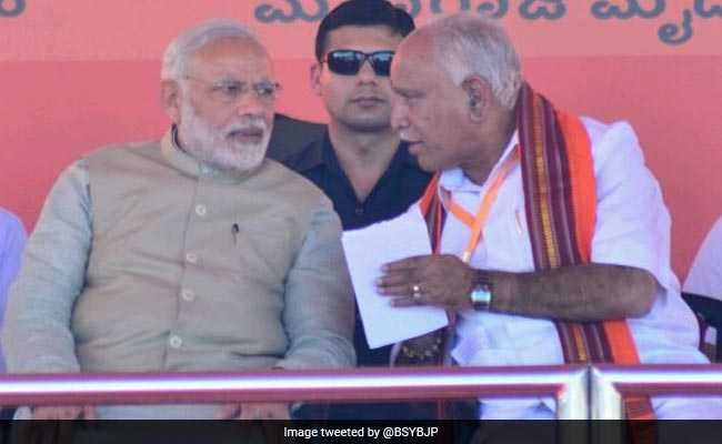 BJP's Karnataka Hope Yeddyurappa Is 75; Party Says Age Bar 'Unofficial'