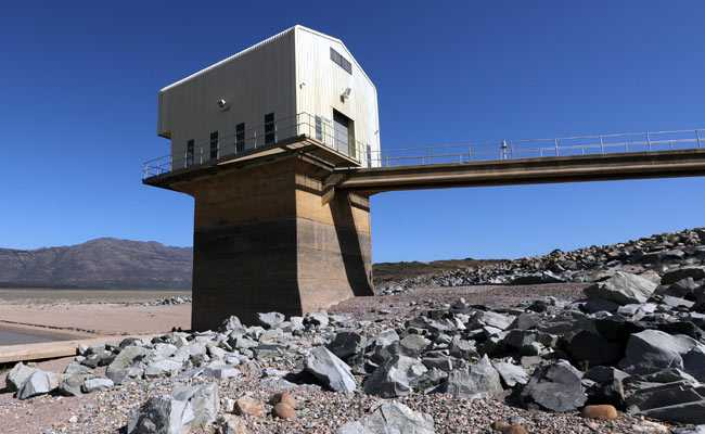 Cape City's dwindling reservoir as metropolis operating out of water