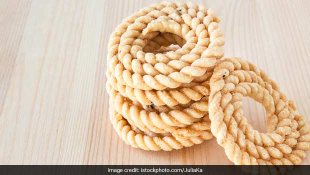 chakli cooked in ghee is healthy