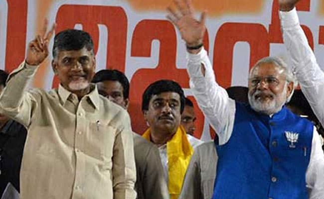 TDP Leaders Meet Rajnath Singh Amid Strain In Ties