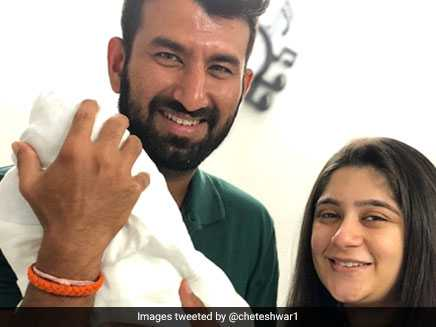 Cheteshwar Pujara And Wife Blessed With Baby Girl