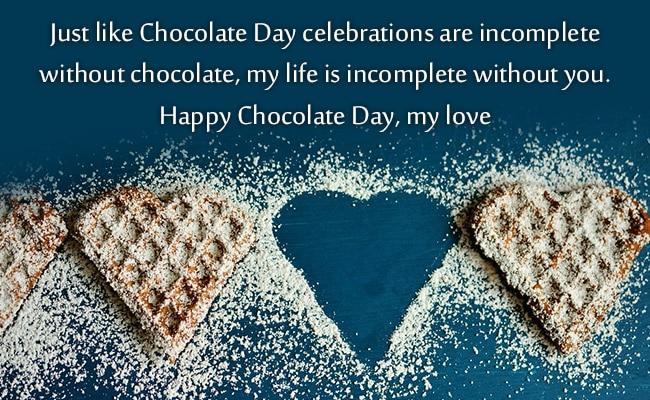 chocolate day valentine week