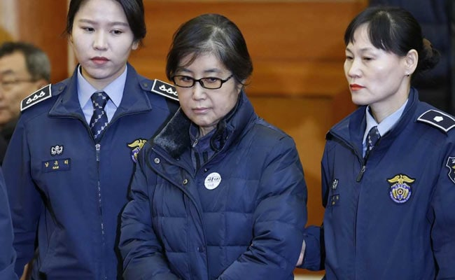 Secret Confidante Choi Soon-sil Of South Korea's President Park Geun-hye Jailed For 20 Years Over Scandal