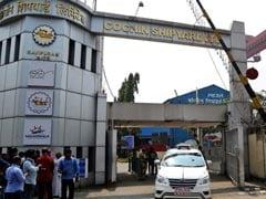 Fire On Ship Under Repair At Cochin Shipyard Kills 5, Injures 11