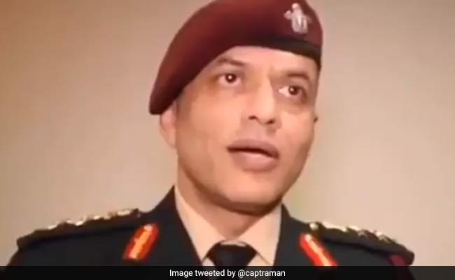 आर्मी ऑफिसर का वीडियो हुआ वायरल, बोले- जाति बताने पर गंदे पानी में लगानी पड़ती थी डुबकी