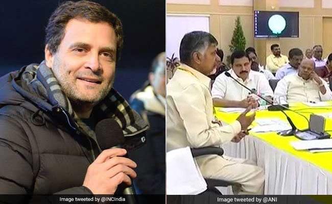 TDP के संसदीय बोर्ड की बैठक खत्म, रणदीप सुरजेवाला ने कहा, राहुल गांधी ही हो सकते है PM मोदी का विकल्प, पढ़ें दिन भर की 5 बड़ी खबरें