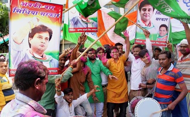 मध्य प्रदेश: पूर्व बीजेपी विधायक अभय मिश्रा हुए कांग्रेस में शामिल
