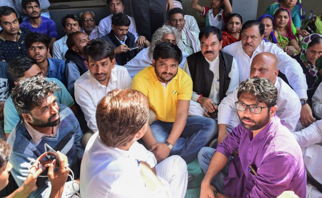 Jignesh Mevani, Hardik Patel Up Ante Over Dalit Activist's Death In Gujarat