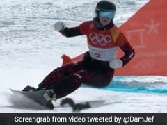 Watch: Daredevil Squirrel Nearly Takes Out Snowboarder At Winter Olympics