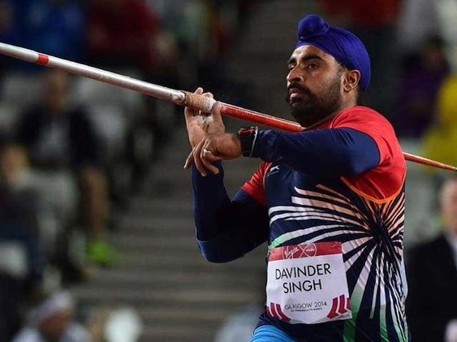 Javelin Thrower Davinder Singh Kang Confident Of Getting Clean Chit In Doping Case