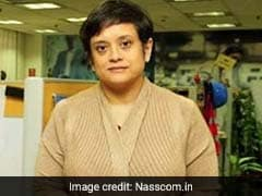 At Last, A Woman Takes Center Stage For India's Tech Industry