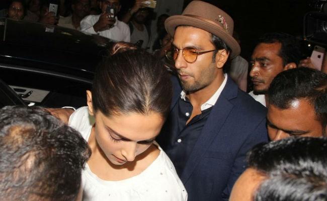 After Tributes To Sridevi, Deepika Padukone And Ranveer Singh Visit Anil Kapoor