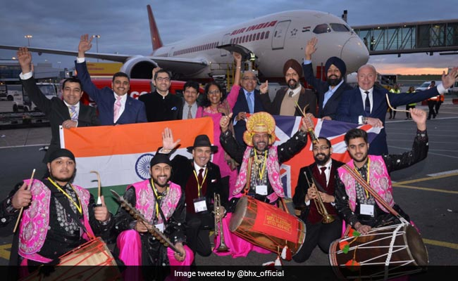 Balle Balle! Dhol Players Drum Up A Storm On Air India Flight To Amritsar