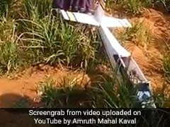 Drone Crashes Into Farmer's Field In Karnataka During Trial