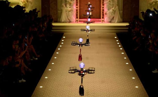 Watch: Drones Fly Down The Runway Carrying Dolce & Gabbana Handbags