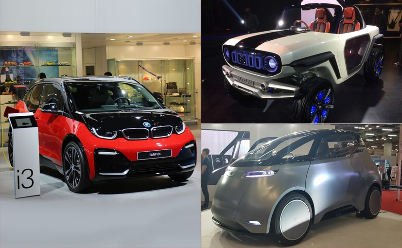 auto expo 2018 top 7 electric cars showcased ndtv carandbike. Black Bedroom Furniture Sets. Home Design Ideas