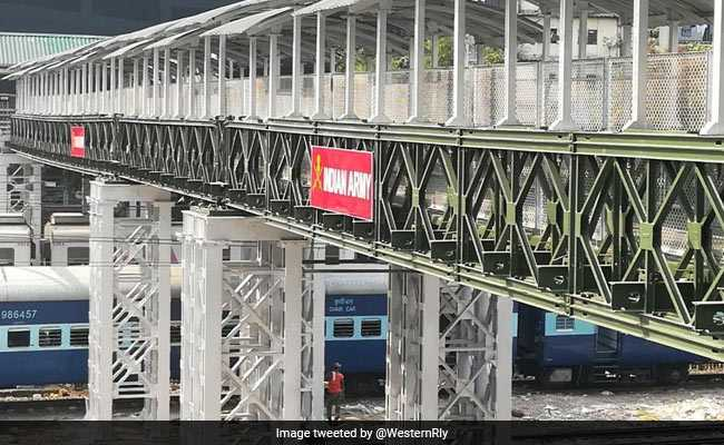 New Elphinstone Foot Overbridge Opens For Public. All Details Here