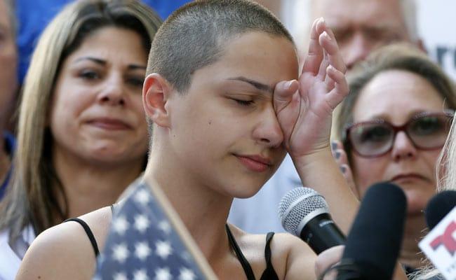 'Shame On You!' Student Tells Donald Trump At Florida Anti-Gun Rally