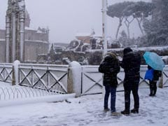 Europe Braced For Fresh Blizzards As Deadly Ice Blast Strands Travellers