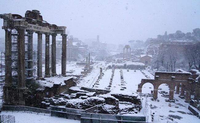 europe snowfall afp