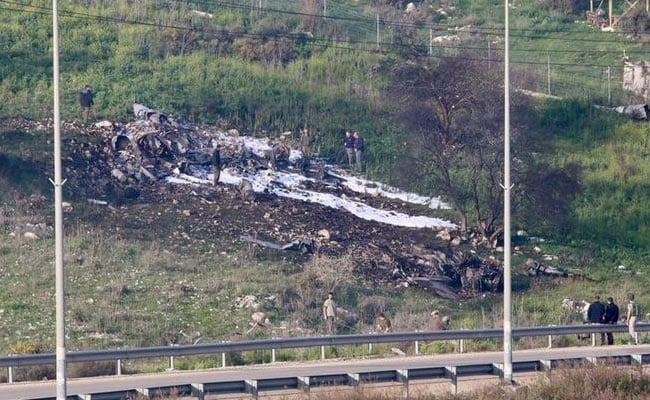 Israel Air Force Finds Crew Error To Blame For Jet's Downing By Syria