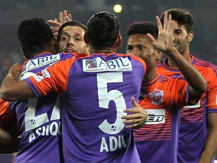 ISL: Pune City Breaks Into Playoff For First Time